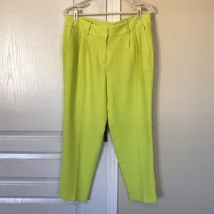 J. Crew Drapey Cropped Trousers